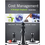 Cost Management: A Strategic Emphasis with Connect Access Card by Blocher, Edward, 9781259818998