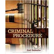 Criminal Procedure by Samaha, Joel, 9781305969001