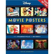 Disney Movie Posters by Luperchio, Kevin, 9781423199014