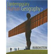 Contemporary Human Geography by Rubenstein, James M., 9780321999016