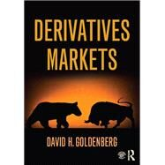 Derivatives Markets by Goldenberg; David, 9780415599016
