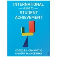 International Guide to Student Achievement by Hattie; John, 9780415879019