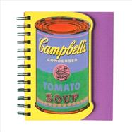 Andy Warhol Soup Can Layered Journal by Warhol, Andy (CON), 9780735339019