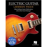 Electric Guitar Lesson Pack + Dvd by Hal Leonard Corp., 9781480399020