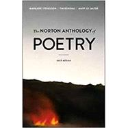 The Norton Anthology of Poetry by Ferguson, Margaret; Kendall, Tim; Salter, Mary Jo, 9780393679021