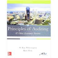 Principles of Auditing & Other Assurance Services with Connect by Whittington, Ray, 9781259619021