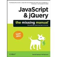 JavaScript & jQuery by McFarland, David Sawyer, 9781449399023