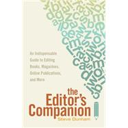 The Editor's Companion by Dunham, Steve, 9781599639024