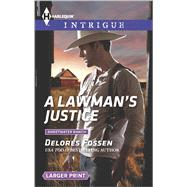 A Lawman's Justice by Fossen, Delores, 9780373749027
