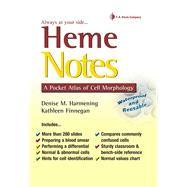 Heme Notes: A Pocket Atlas of Cell Morphology by Harmening, Denise M., 9780803619029