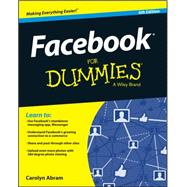 Facebook for Dummies by Abram, Carolyn, 9781119179030