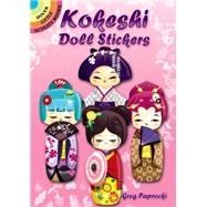Kokeshi Doll Stickers