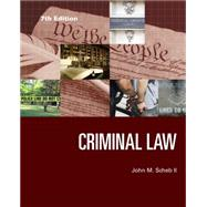 Criminal Law by Scheb, II, John M., 9781285459035