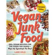 Vegan Junk Food by Gold, Lane, 9781507209035