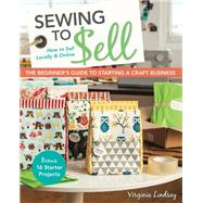Sewing to Sell by Lindsay, Virginia, 9781607059035
