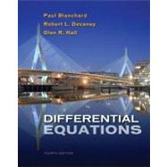 Differential Equations (with DE Tools Printed Access Card) by Blanchard, Paul; Devaney, Robert L.; Hall, Glen R., 9781133109037
