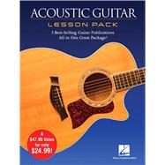Acoustic Guitar Lesson Pack + Dvd by Hal Leonard Corp., 9781480399037