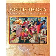 World History, Volume II by Duiker, William J.; Spielvogel, Jackson J., 9780495569039
