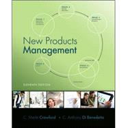 New Products Management by Crawford, C. Merle; Di Benedetto, C. Anthony, 9780078029042