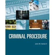 Criminal Procedure by Scheb, II, John M., 9781285459042