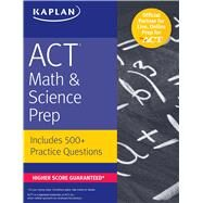 Act Math & Science Prep by Kaplan Publishing, 9781506209043