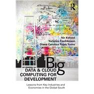 Big Data and Cloud Computing for Development: Lessons from Key Industries and Economies in the Global South by Fredriksson; Torbj÷rn, 9781138689046