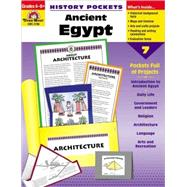 History Pockets: Ancient Egypt: Grades 4-6 by Nobleman, 9781557999047