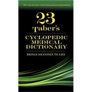 Taber's Cyclopedic Medical Dictionary: Thumb- indexed Version by Not Available, 9780803659049