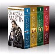 Game of Thrones 4-copy boxed set (George R. R. Martin Song of Ice and Fire Serie by Martin, George R. R., 9780345529053
