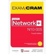 CompTIA Network+ N10-005 Exam Cram by Dulaney, Emmett; Harwood, Michael, 9780789749055
