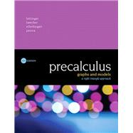 Precalculus Graphs and Models, A Right Triangle Approach by Bittinger, Marvin L.; Beecher, Judith A.; Ellenbogen, David J.; Penna, Judith A., 9780134179056