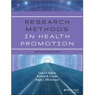 Research Methods in Health Promotion by Salazar, Laura F., 9781118409060