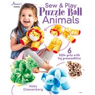 Sew & Play Puzzle Ball Animals by Glassenberg, Abby, 9781573679060