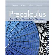 Precalculus : Graphical, Numerical, Algebraic by DEMANA & WAITS, 9780131369061