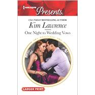 One Night to Wedding Vows by Lawrence, Kim, 9780373139064