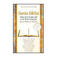 Santa Biblia: Edicion Especial Con Referencias : Reina-Valera Revision 1960 : Piel Fabricada, Negro by , 9781558199064