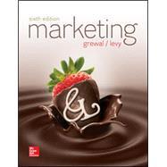 Marketing 6E by Levy, Michael;Grewal , Dhruv, 9781259709074