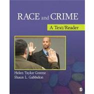 Race and Crime : A Text/Reader by Helen Taylor Greene, 9781412989077