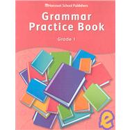 Grammar Pract Bk For Storytown 1(P) by Unknown, 9780153499081