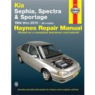 Haynes Kia Sephia, Spectra & Sportage 1994 Thru 2010 Automotive Repair Manual by Hamilton, Joe L.; Haynes, John Harold, 9781563929083