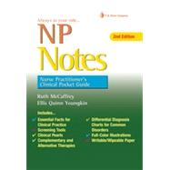 NP Notes: Nurse Practitioner's Clinical Pocket Guide by McCaffrey, Ruth, 9780803639089