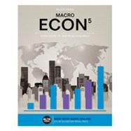 ECON MACRO (with Online, 1 term (6 months) Printed Access Card) by McEachern, William A., 9781305659094