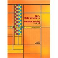 ADTs, Data Structures, and Problem Solving with C++ by Nyhoff, Larry R., 9780131409095