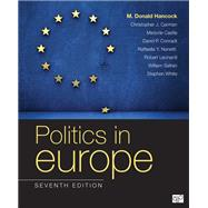 Politics in Europe by Hancock, M. Donald; Carman, Christopher J.; Castle, Margorie; Conradt, David P., 9781506399096