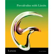 Precalculus With Limits by Larson, Ron, 9781439049099