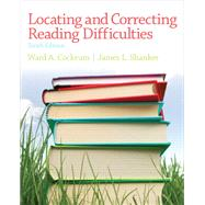 Locating and Correcting Reading Difficulties by Cockrum, Ward; Shanker, James L., 9780132929103