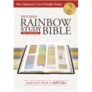 Holman Rainbow Study Bible: KJV Edition, Hardcover by Holman Bible Staff, 9781586409104