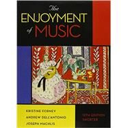 The Enjoyment of Music, Shorter 12th edition with Total Access Card and DVD (MP3) by Forney, Kristine, 9780393279108