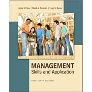 Management: Skills & Application by Rue, Leslie; Byars, Lloyd; Ibrahim, Nabil, 9780078029110