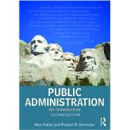 Public Administration: An Introduction by Holzer; Marc, 9780765639110